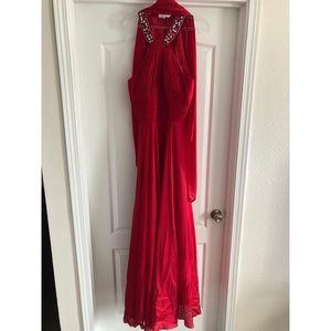 Long Red Dress, size L